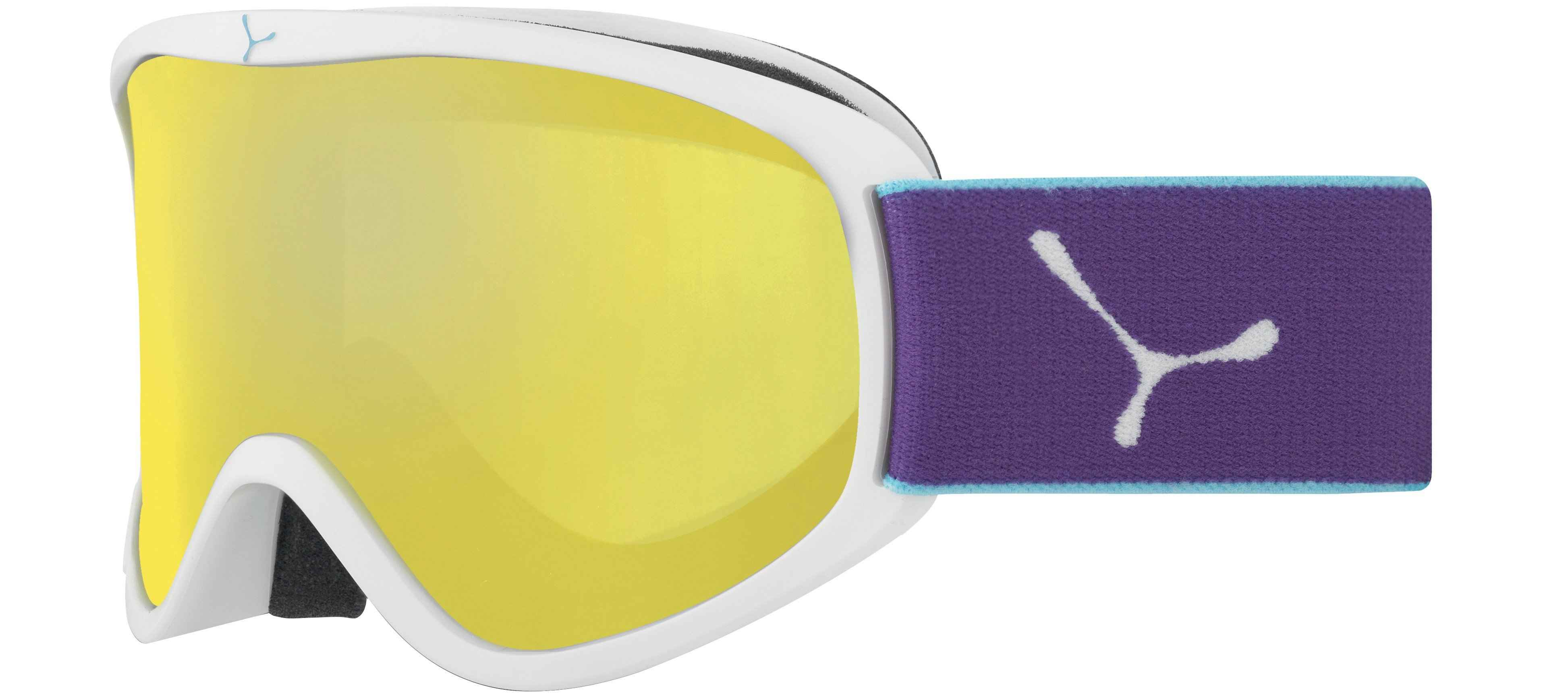 очки cebe striker white violet yellow flash mirror m cat1