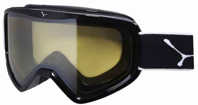 очки cebe striker black stripes yellow flash mirror l