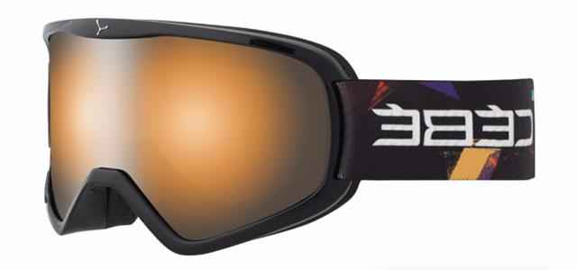 очки cebe striker l black street orange flash mirror