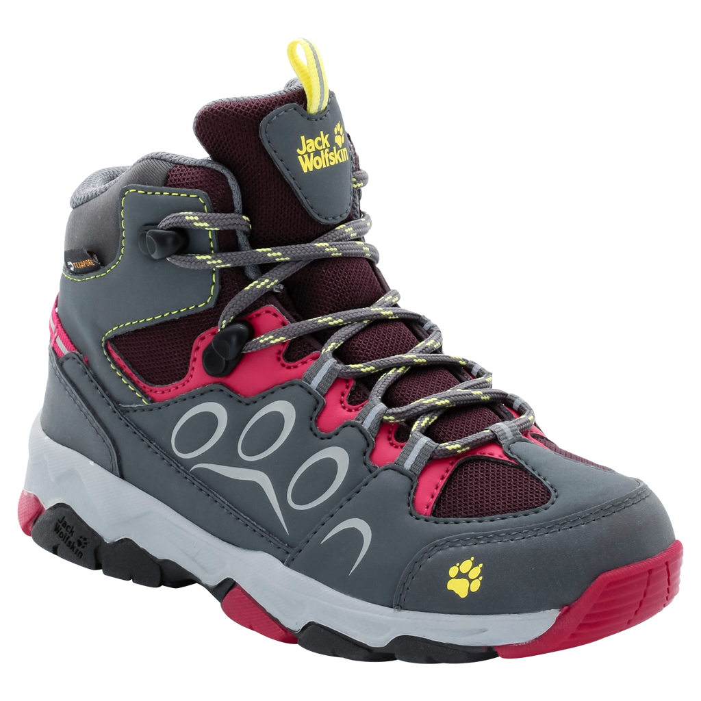 ботинки jack wolfskin mtn attack 2 cl texapore mid jr