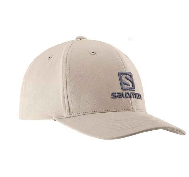 кепка salomon logo cap