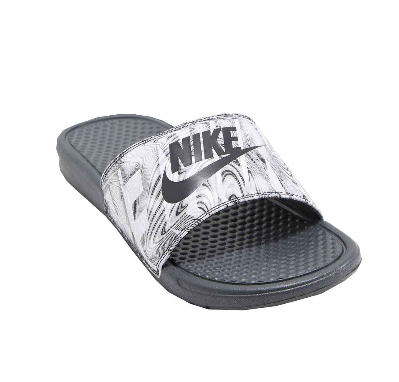 Сланцы Nike Benassi Just Do It Print (черный/серый 42.5(9))