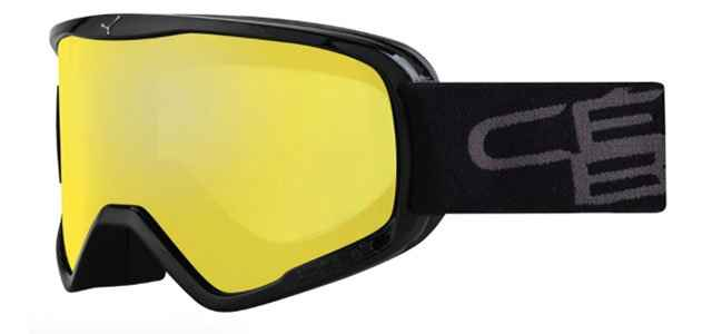 очки cebe razor black yellow l