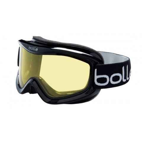 очки bolle mojo shiny black/lemon m