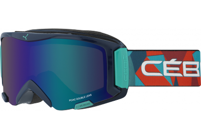 очки cebe super bionic blue rainbow brown flash blue