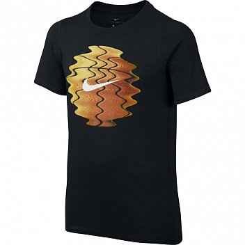футболка nike dry tee ss scanner ball jr