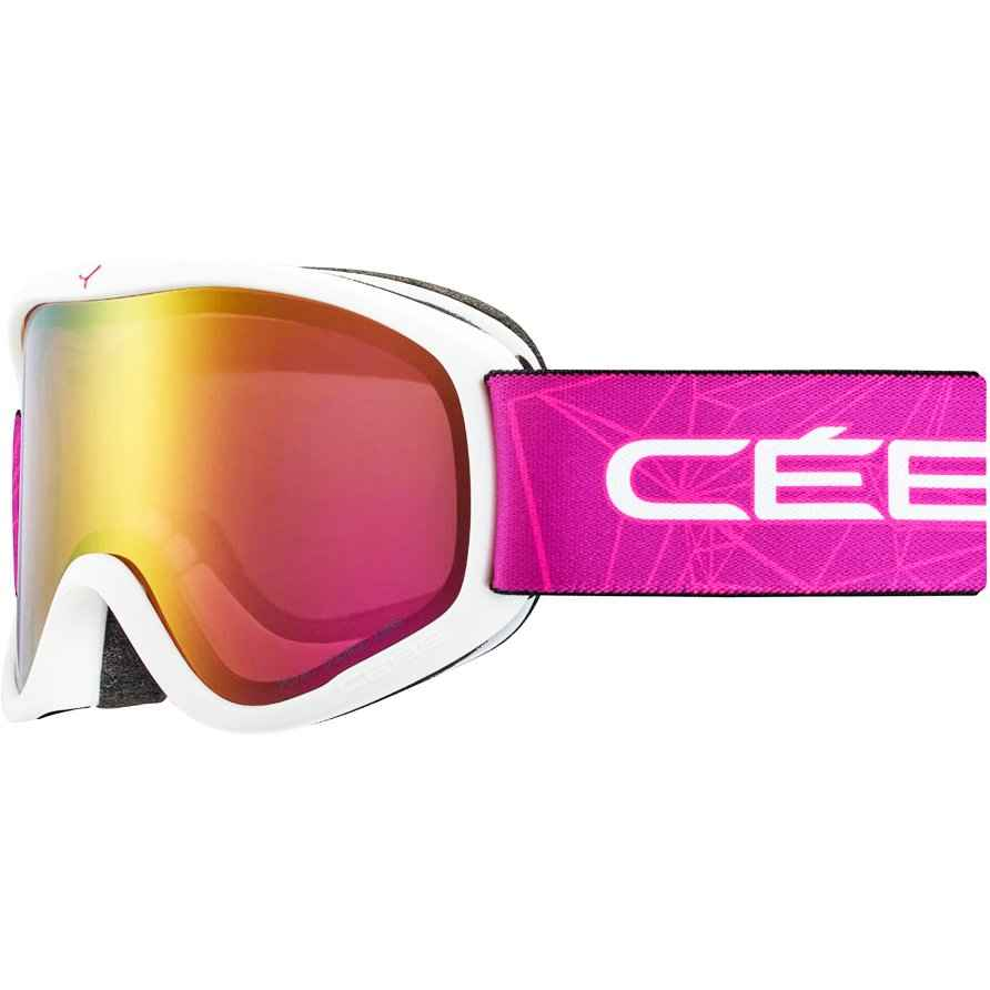 очки cebe striker m geometric pink light rose flash gold