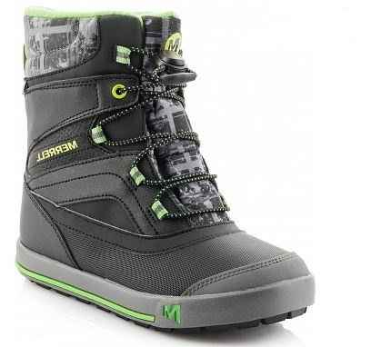ботинки merrell ml-boys snow bank 2.0 jr