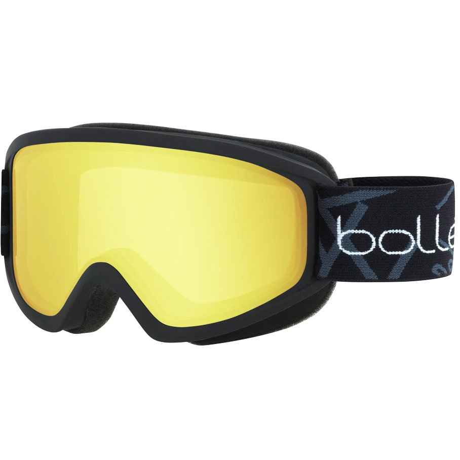 очки bolle freeze matte black lemon