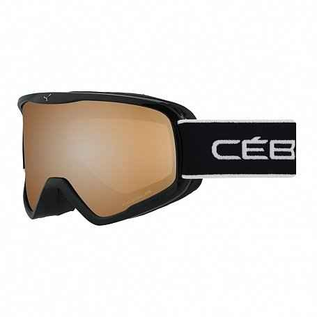 очки cebe striker l full black orange flash mirror