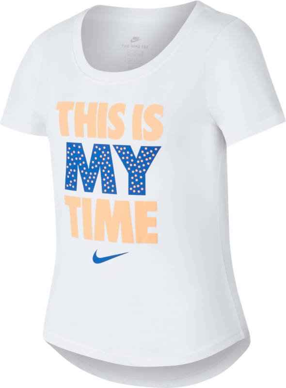 футболка nike nsw this is my time jr