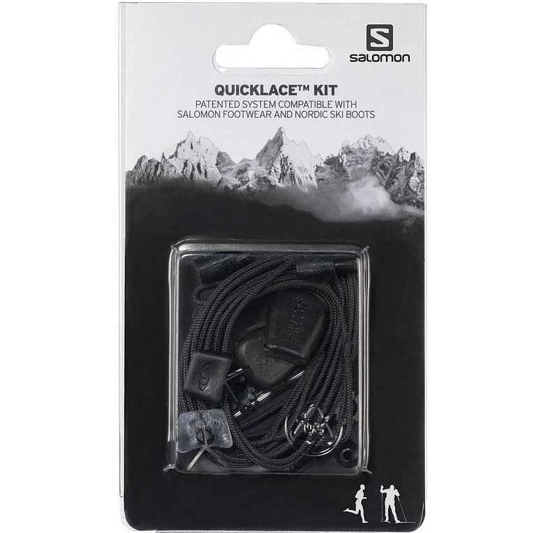 Шнурки Salomon Quicklace Kit (black 8.5)