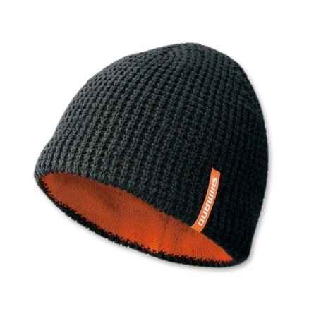 шапка shimano knit watch cap ca-084m
